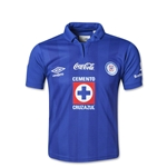 Cruz Azul 13/14 Youth Home Soccer Jersey
