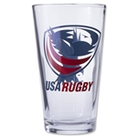 USA Rugby Pint Glass