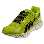 PUMA Bioweb Elite Running Shoe (Lime Punch/Black/White)