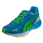 PUMA Bioweb Elite Running Shoe (Hawaiian Ocean/Fluo Green)