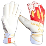 Daytona Goalkeeper Glove (White/Red)