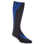 Under Armour Ignite Crew Sock (Black/Royal)