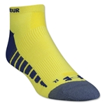 Under Armour Full Cushion Performance Sock (Neon Yellow)