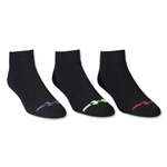 Under Armour Charged Cotton Low Cut Sock 6 Pair Pack (Black)