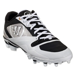 Warrior Gospel Cleat (White/Black)