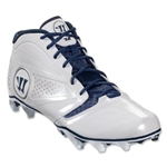 Warrior Burn 7 Mid Lacrosse Cleats (Blue)