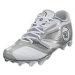 Warrior Burn 7 Low Cleat (White)
