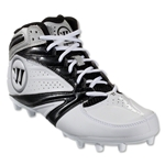 Warrior Second Degree 3.0 Cleat (White/Black)