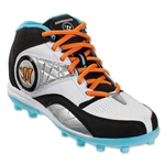 Warrior Vex Junior 2.0 Cleat (White/Blue/Black)