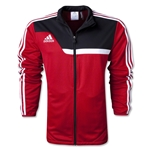 adidas Tiro 13 Training Jacket (Red/Blk)