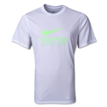 Nike Legend Soccer T-Shirt (White)