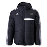 adidas World Rugby Shop Tiro 13 Padded Jacket (Blk/Wht)
