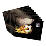 Comet Soccer Ball Card Pack