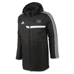 adidas World Rugby Shop Tiro 13 Stadium Jacket (Blk/Wht)