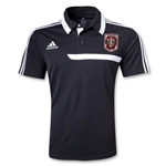 Indiana University Rugby CL Polo (Black)