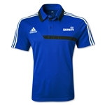 adidas Serevi Tiro 13 CL Polo (Royal/Black)