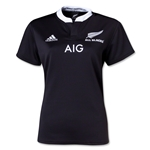 All Blacks 13/14 Women's Home Rugby Jersey