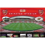 Estadio Emirates Afiche