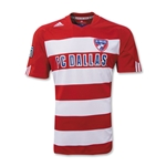 FC Dallas MLS 10/11 Jersey de Futbol Local Juvenil