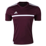 adidas MLS 15 Match Soccer Jersey (Maroon/Wht)