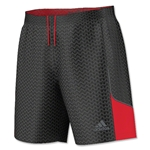 adidas Youth SpeedTrick Short (Blk/Red)