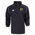Pleasanton Cavaliers Rugby Canterbury 1/4 Zip Rain Jacket (Black)
