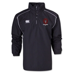 Village Lions Canterbury 1/4 Zip Rain Jacket (Black)