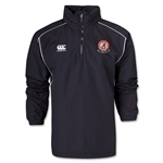 University of Alabama Rugby 1/4 Zip Jacket (Black)