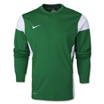 Nike Long Sleeve Academy 14 Midlayer T-Shirt (Green/Wht)