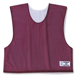 Warrior Collegiate-Cut Cap Sleeve Reversible Jersey (Maroon/Wht)