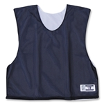 Warrior Collegiate-Cut Cap Sleeve Reversible Jersey (Navy/White)