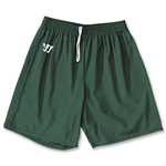 WARRIOR COLLEGIATE-CUT PRACTICE Lacrosse Shorts (Dark Green)