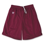 WARRIOR COLLEGIATE-CUT PRACTICE Lacrosse Shorts (Maroon)