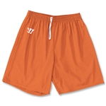 WARRIOR COLLEGIATE-CUT PRACTICE Lacrosse Shorts (Orange)