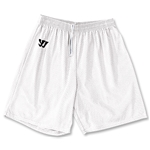 WARRIOR COLLEGIATE-CUT PRACTICE Lacrosse Shorts (White)