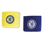 Chelsea 3-Stripe Wristbands
