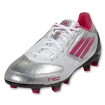 adidas Women's F10 TRX FG (Metallic Silver/Bright Pink/Black)