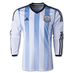 Argentina 2014 LS Home Soccer Jersey