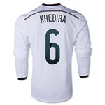 Germany 2014 KHEDIRA LS Home Soccer Jersey