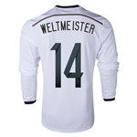 Germany 2014 WELTMEISTER LS Home Soccer Jersey