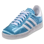 adidas Originals Women's Gazelle II Leisure Shoes (Light Aqua/Running White)