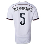 Germany 2014 BECKENBAUER Authentic Home Soccer Jersey