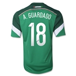Mexico 2014 A. GUARDADO Jersey de Futbol Local
