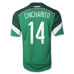 Mexico 2014 CHICHARITO Home Soccer Jersey
