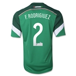 Mexico 2014 F. RODRIGUEZ Jersey de Futbol Local
