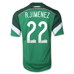 Mexico 2014 R. JIMENEZ Jersey de Futbol Local