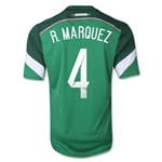 Mexico 2014 R. MARQUEZ Jersey de Futbol Local