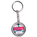 New York Red Bulls Spinner Key Ring