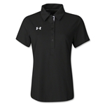 Under Armour Women's Coaches Polo II (Black)