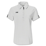 Under Armour Women's Coaches Polo II (White)